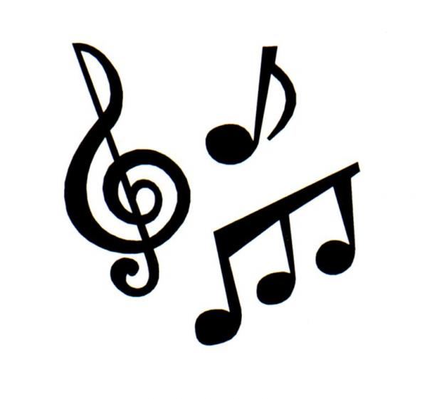600x561 Music notes clipart 4
