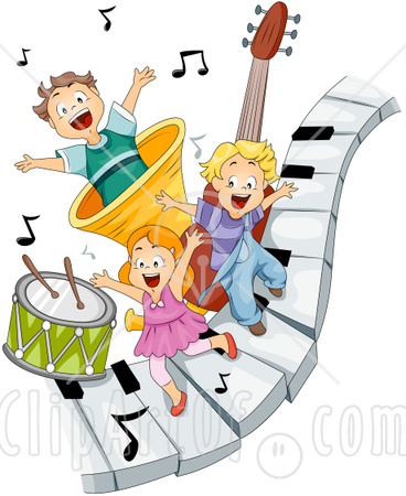 368x450 children music clip art