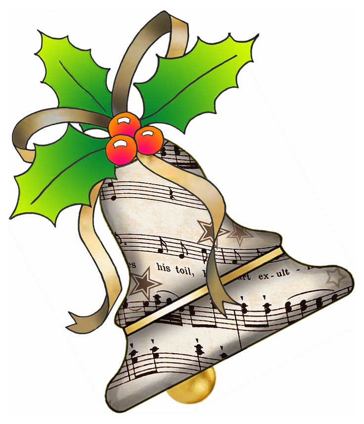 736x856 Free Christmas Music Clipart