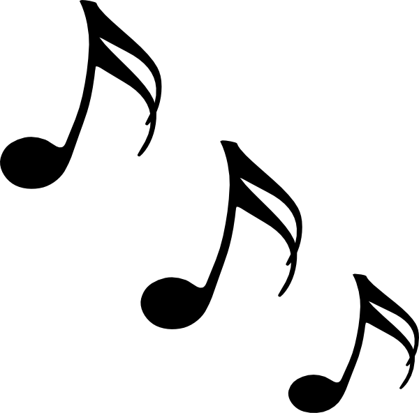 600x592 Music Notes Clipart