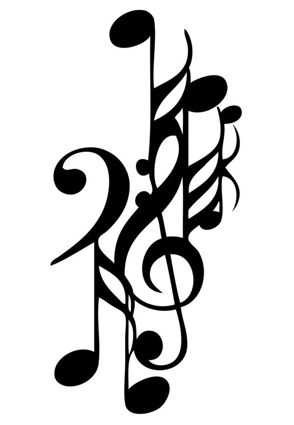 600x865 Musical Notes Tattoo By Playthis