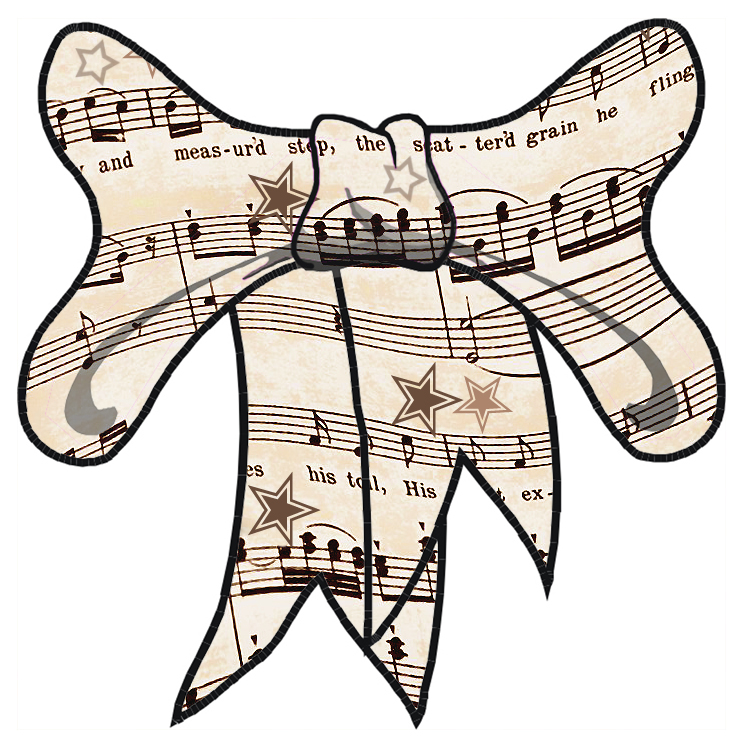 744x748 Clipart Sheet Music