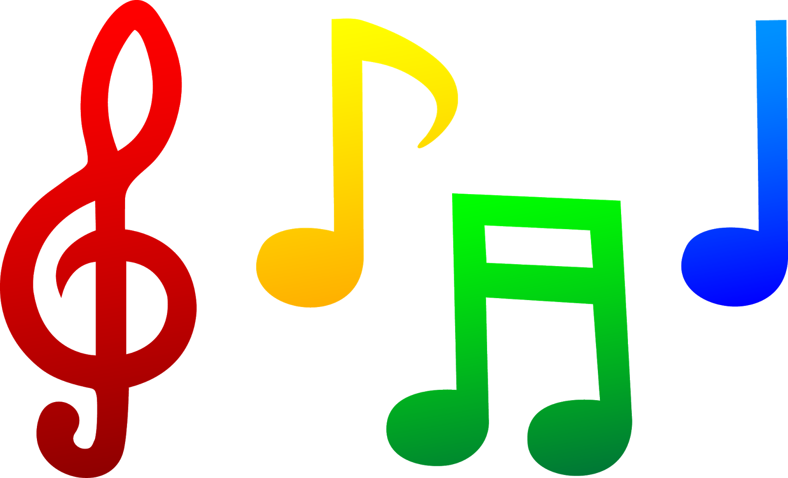 1600x970 Music Clip Art For Kids Musical Notes Set Color School