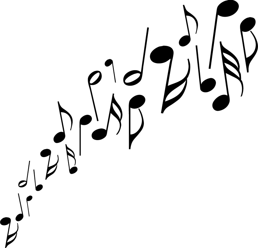 834x802 Music Notes Images Free Clipart