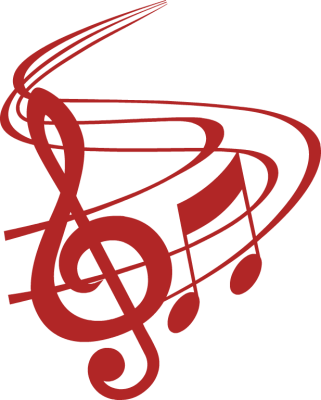 321x400 Christmas Music Notes Clipart