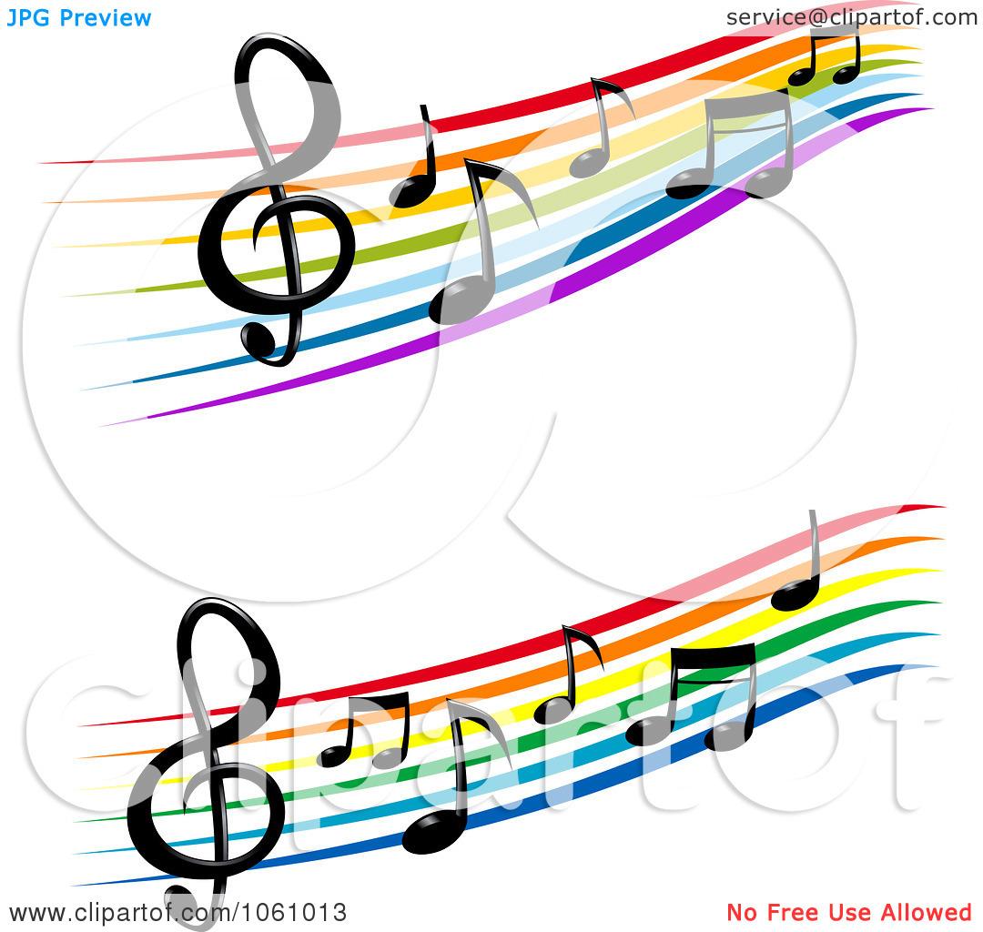 1080x1024 Colorful Music Note Border Clip Art Clipart Panda