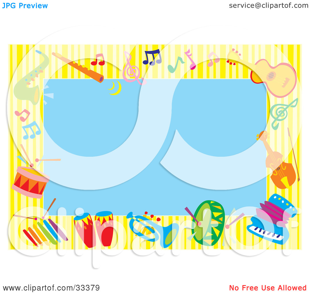 1080x1024 Musical Notes Background Blue Clipart Panda