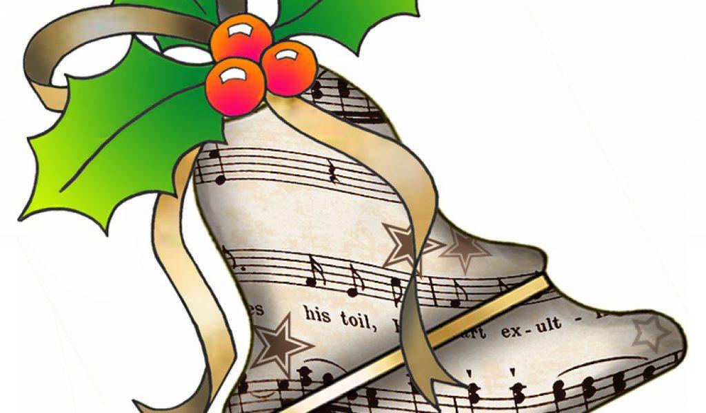 1024x600 Christmas Musical Clipart