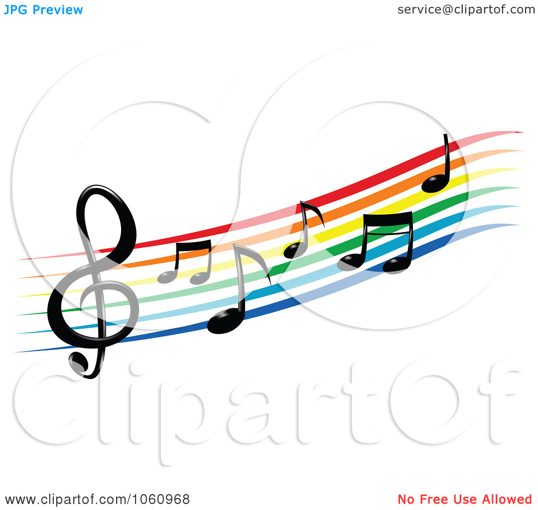 1080x1024 Music Notes On Staff Clipart Clipart Panda