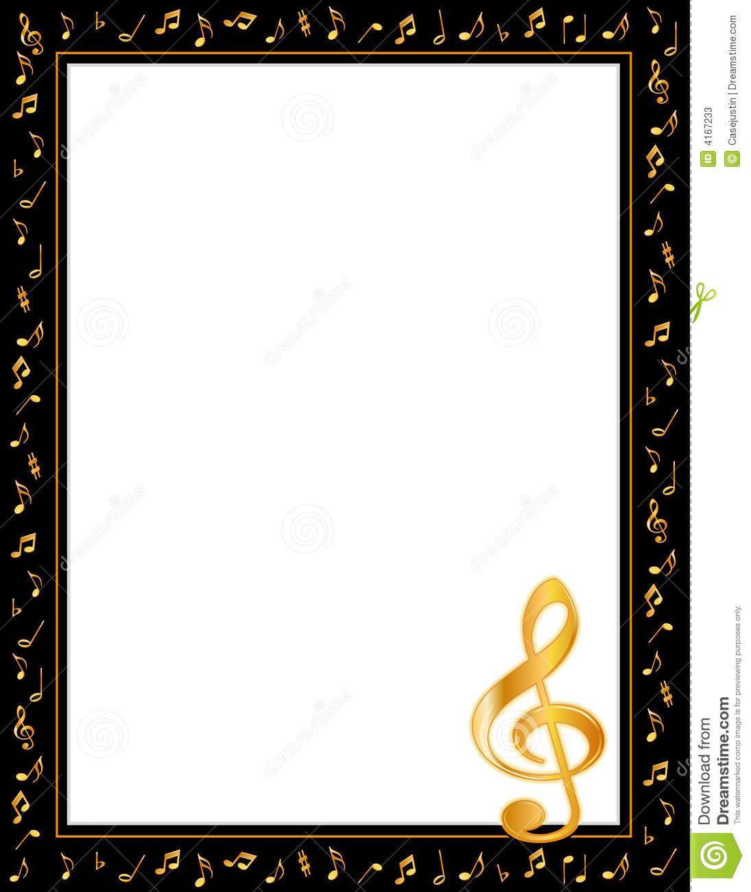 1095x1300 Christmas Music Notes Border Clipart Panda