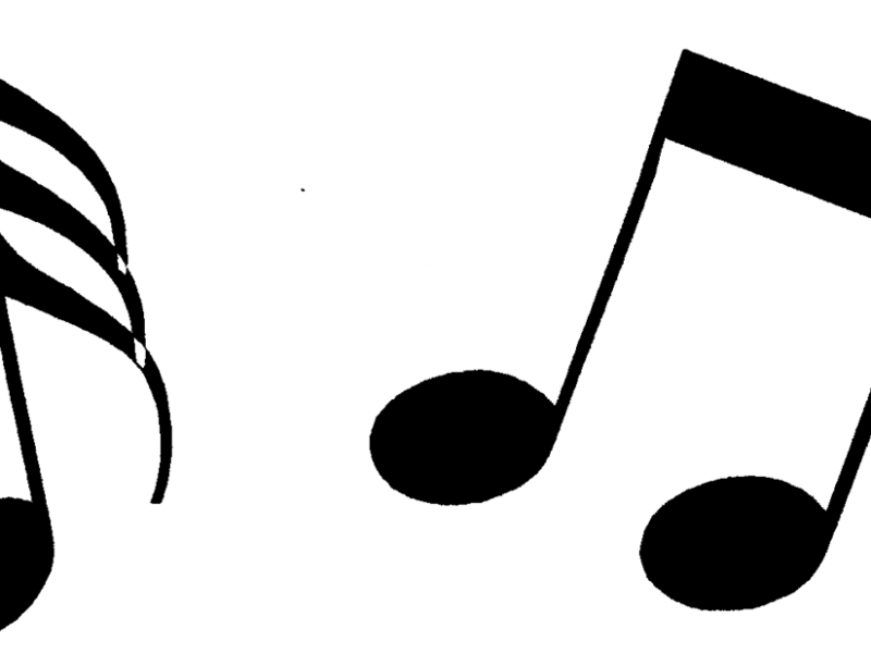 800x600 Captivating Musical Note Clip Art Music Notes Clipart Panda Free