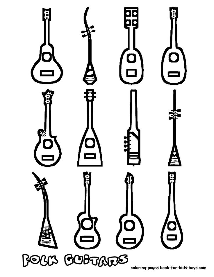 736x952 40 best string instrument coloring pages images