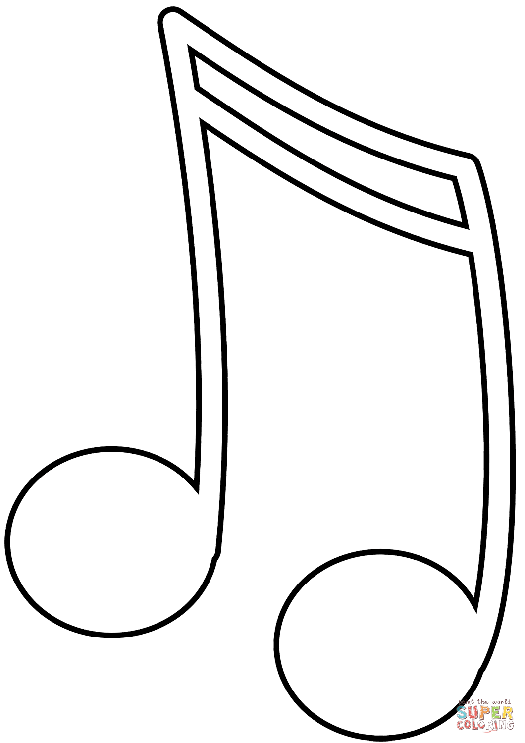 1060x1500 Music Note Coloring Page Free Printable Coloring Pages