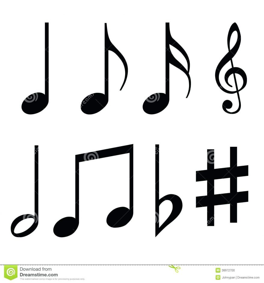 878x939 Musical Notes Symbols 28 Appealing Coloring Pages Music For Adults