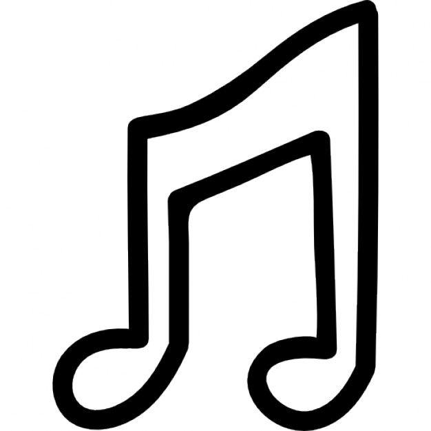626x626 Drawn Musical Music Note