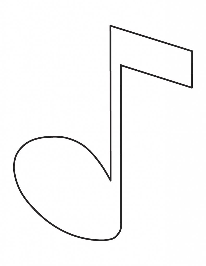 791x1024 How Do You Draw A Music Note How To Draw A Music Note Clipart Best