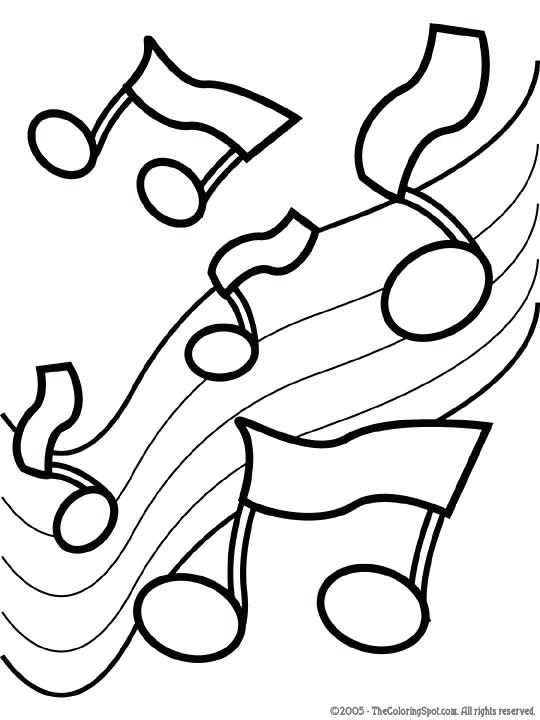 540x720 Music Note Coloring Page Medium Size Of Coloring Note Coloring