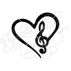 236x236 Love Music, Music Heart, Musical Notes, Digital Clip Art Set