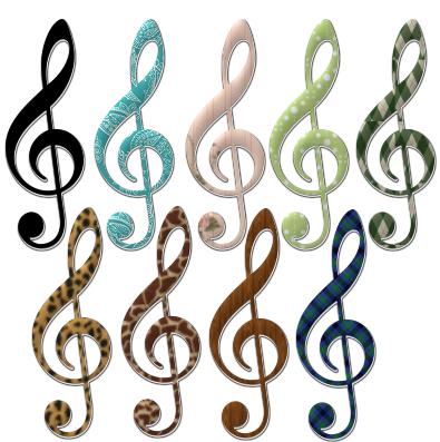 395x397 Free Music Note Clip Art Lovetoknow