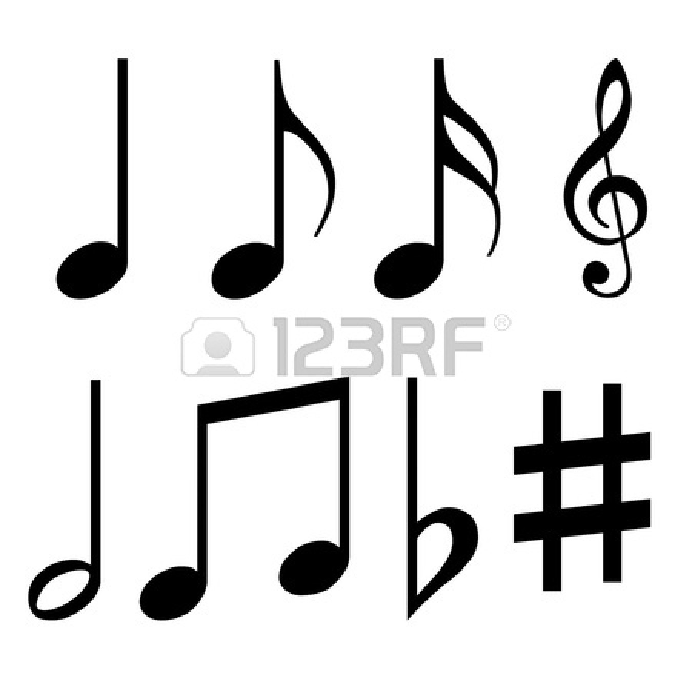 1350x1350 Music Notes For Facebook Clipart