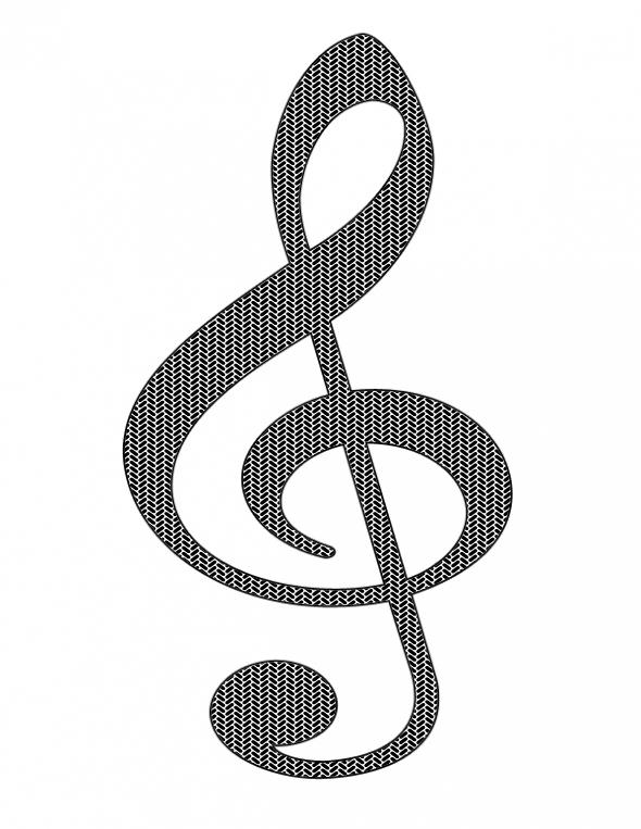 590x763 Music Notes Symbols Clip Art Clipart Panda