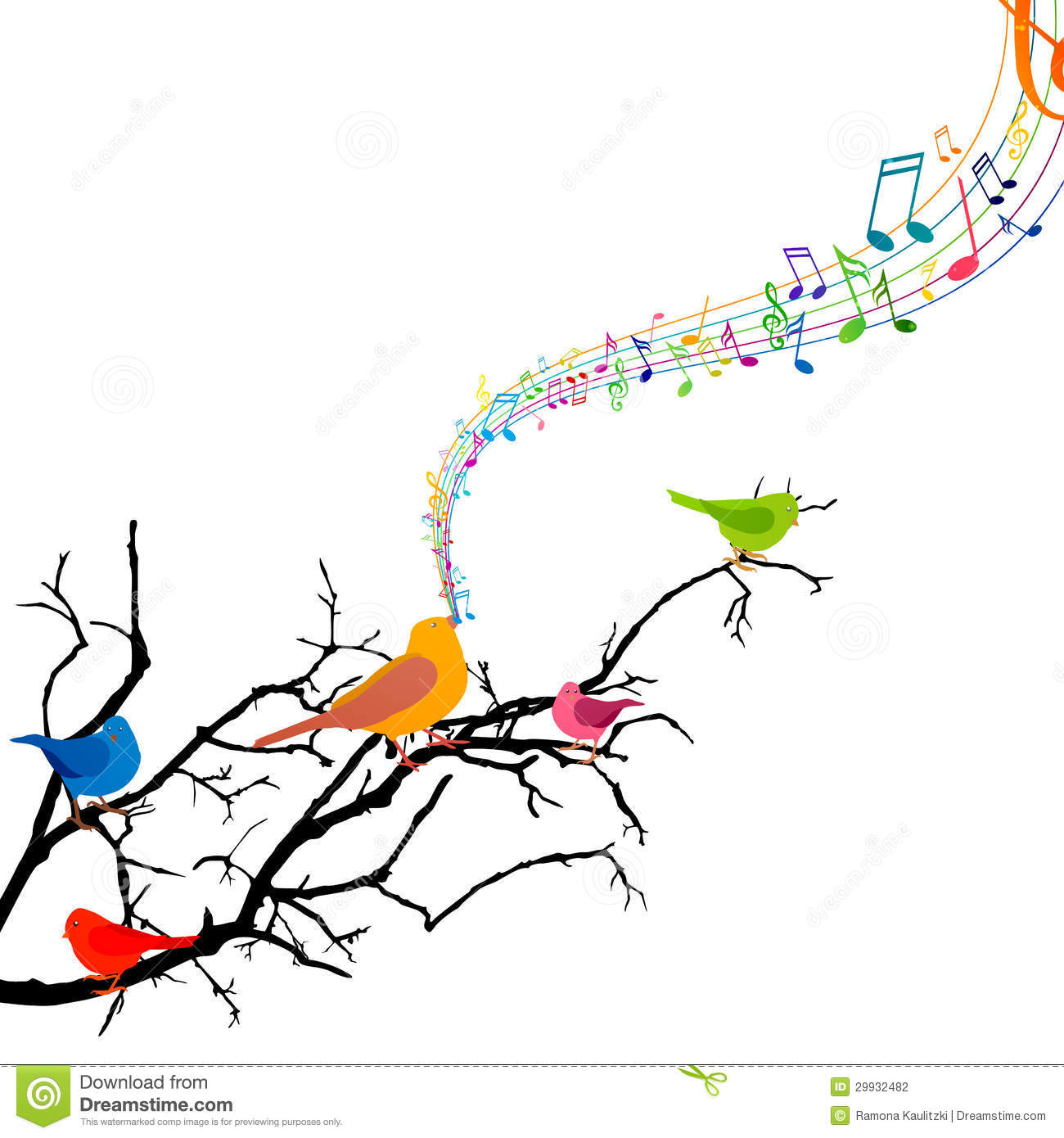 1300x1390 Colorful Music Notes Clipart
