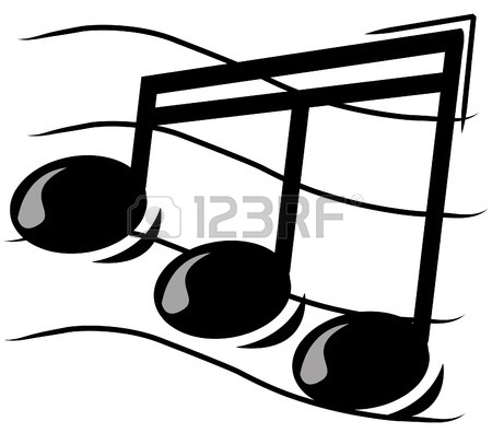 450x396 Musical Note On Staff
