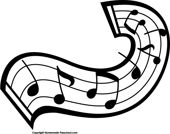 548x432 Musical Notes Clip Art