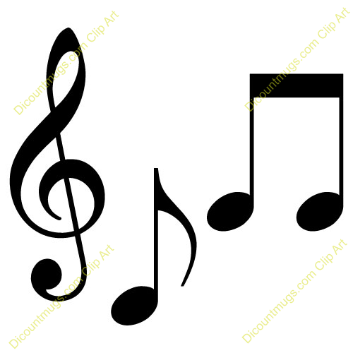 500x500 Free Clipart Musical Notes