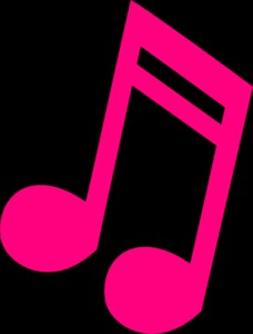 228x300 Pink Music Note Music Note Clipart Pink Music