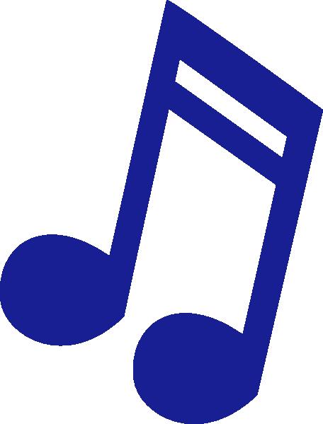 456x599 Blue, Music, Note, Eighteenth Note, Clip Art