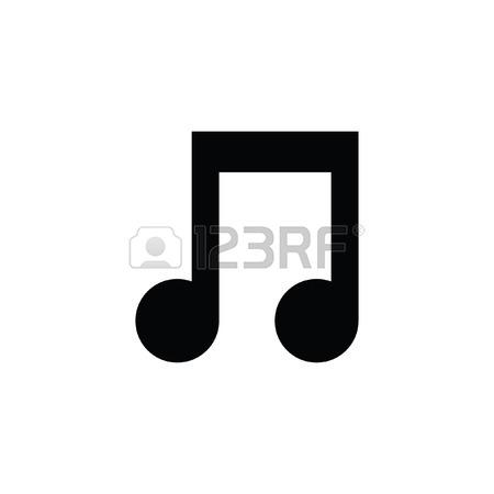 Music Note White