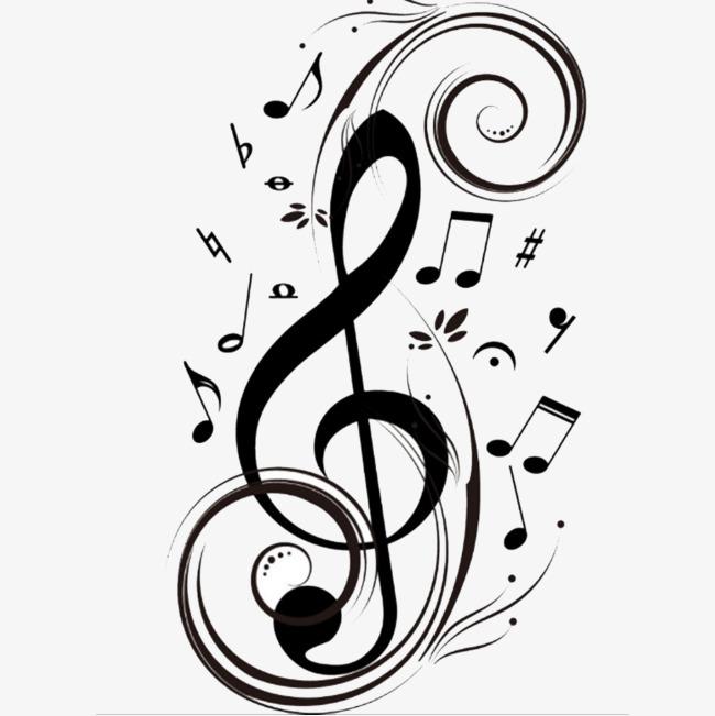 650x651 Black Musical Symbol, Music, Musical Note, Black Symbols Png Image