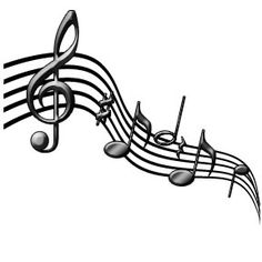 236x236 Clip Art Of Musical Staff Free Music Note Clipart Music