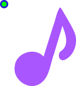 264x298 Music Note Clip Art