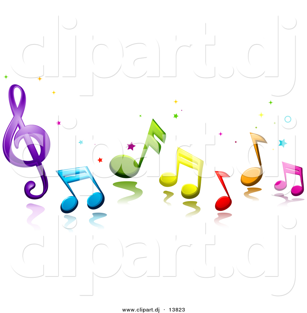 1024x1044 9 Colorful Music Note Designs Images