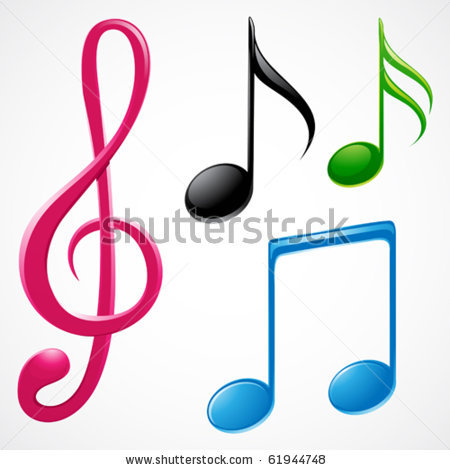 450x470 Music Notes Clipart Music Symbol