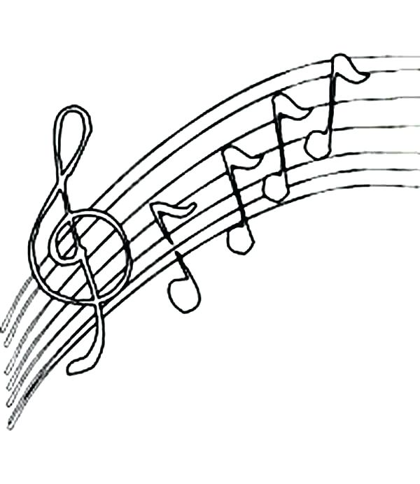 600x692 Music Coloring Pages Music Coloring Sheets Beautiful Music
