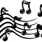 150x150 Music Notes Coloring Pages Bebo Pandco