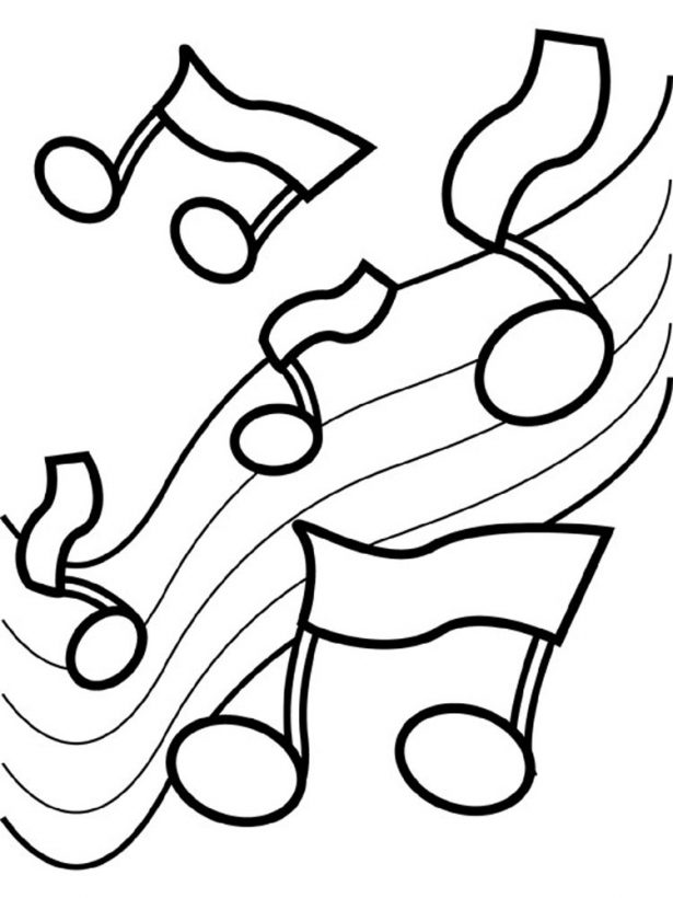 615x820 Other Music Coloring Pages For Kids Music Coloring Pages Others