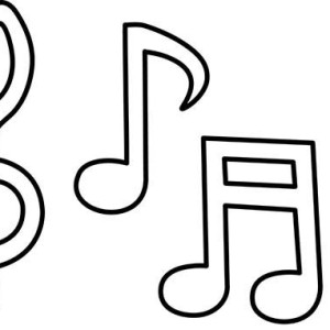 300x300 Play Your Song Music Notes Coloring Page Play Your Song