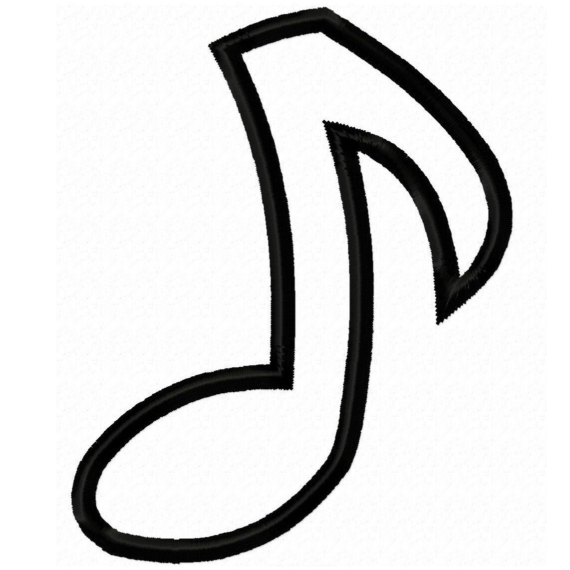 Music Notes Coloring Pages Free