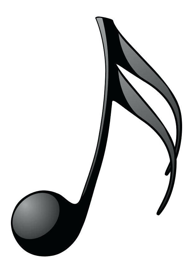 620x875 Music Note Coloring Page
