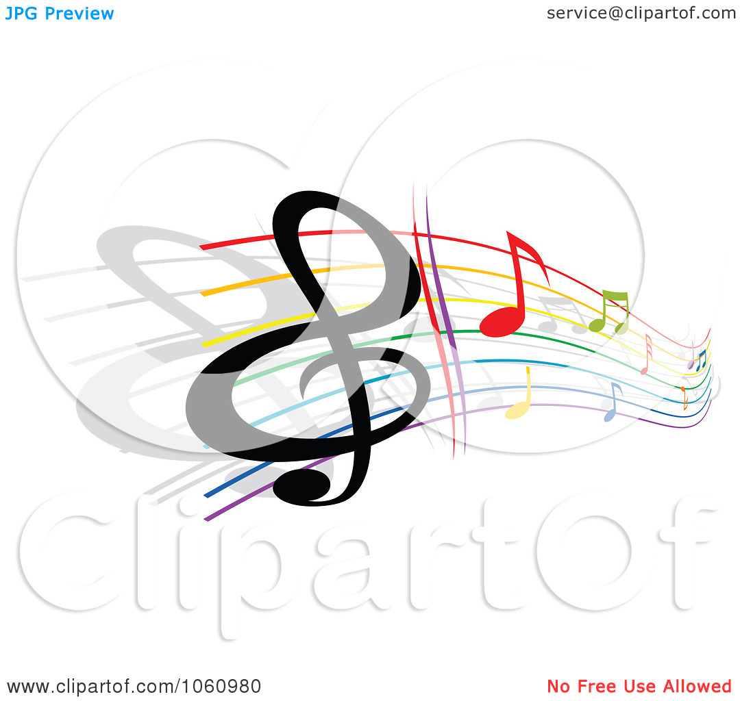 1080x1024 Free Clipart Of Music Notes