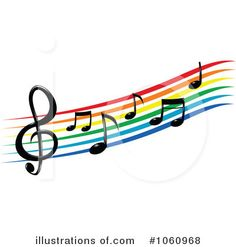 236x247 Music Notes Clip Art Cloud, Rainbow Sun, Moon Amp Light