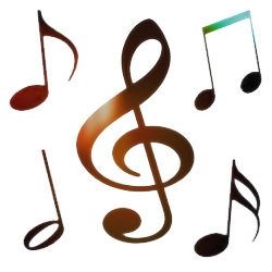 250x250 Musical Free Music Notes Clip Art Free Vector For Free Download