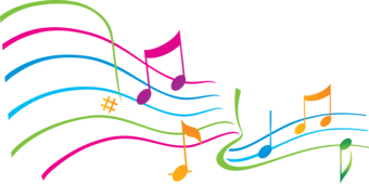 340x170 Photo Collection Colorful Music Notes
