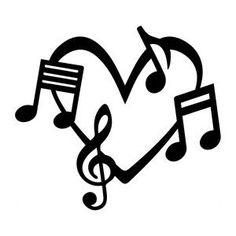Music notes pictures free download best music notes pictures on 236x236 these notes can be downloaded free these would be fun silhouettes thecheapjerseys Images