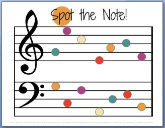 328x255 Fun Note Name Worksheet. Website Also Has Tons Of Fun Music