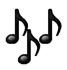 220x230 Ios Emoji Multiple Musical Notes